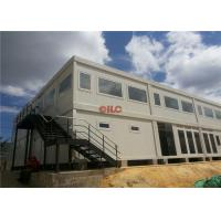Mineral Wool Panel Mobile Office Containers 20ft Or 40ft With Conference Meeting Room Manufactures