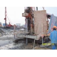 Quality Full Hydraulic Jet Grouting Drilling Rig vice winch and electrical control power head for sale