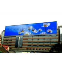 China 5500cd/Sqm Brightness PH10 Outdoor LED Billboard Advertising Message Board Module on sale