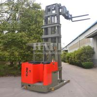 1T 7.5M narrow aisle electric 3way stacker/electric forklift With very good performance Manufactures