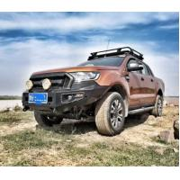 Factory OEM Front Bumper Rear Bumper Steel Recovery Bull Bar for 2019 Ford Ranger T7 Front Guard Manufactures