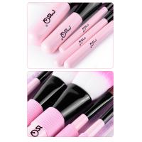 5 Pieces Brush Sets Professional Makeup Brushes With Mirror  Pink Manufactures