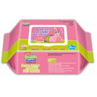 China Full Servo Baby Wet Wipes Making Machine PLC Control Color Touching Screen on sale