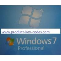 China stable microsoft windows 7 professional product key activated / verified online on sale