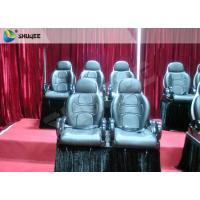 Red Color Electronic System 5D Cinema Equipment Motion Seat With Special Effect Manufactures