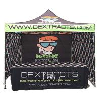 China Advertising Folding Tent 3x3 Aluminum Structure Wall Tent 2x2 Exhibition Tent on sale