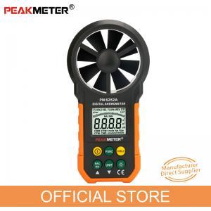 Environmental Air Wind Meter Anemometer , Flow Area Setting Handheld Wind Speed Indicator Manufactures