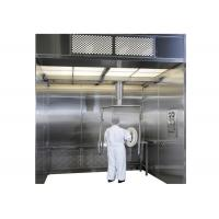 HEPA Filter Raw Material Dispensing Booth For Pharmaceutical Industry Clean Room Manufactures