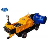 China High pressure plunger type electric mortar cement grouting pump on sale