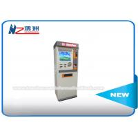 Touch Screen Information Self Service Kiosk With Barcode Scanner / Receipt Printer Manufactures