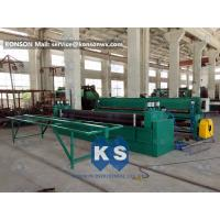 PLC Control Gabion Making Machine With Overload Protect Clutch Optional Wire Size Manufactures