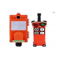 F21- 4D Hoist Remote Control Switch / Industrial Control For Crane Hoist Manufactures