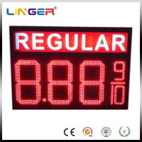 IP65 Waterproof Electronic LED Gas Price Display Customized Design Manufactures