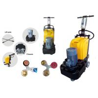 Small Disc Granite Marble Floor Polisher Machine For Stone Grinding 0 - 1500 rpm Manufactures