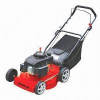 Quality Gasoline Lawn Mower with 460mm Cutting Width, 139cc Displacement and 25 to 85mm Height for sale