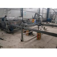 China High Output Wire Mesh Fencing Machine , 2.5 M Width Steel Grating Welding Machine on sale