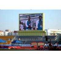 China Outdoor Video P10  Led Display Board Screen 160*160mm Anti - UV on sale