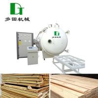 China Timber Drying Kiln RF Vacuum Wood Drying Room For Sale on sale