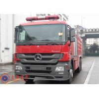 Gross Weight 28000kg Water Tanker Fire Truck With 12000kg Capacity Liquid Tank Manufactures