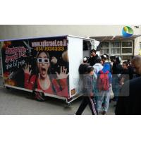 Amazing Mobile Truck 5D Cinema With 6 Seats And Special Effects Inside Manufactures