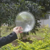Best price for Pressed clear outdoor lighting explosion proof light borosilicate glass spot fresnel lens Manufactures