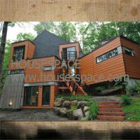 Waterproof Steel Camp Prefab Container House / Holiday Hotel For Mountainous Areas Manufactures