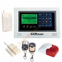 GSM Alarm System With LCD Display And Touch Keypad Manufactures