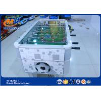 China Mini Football Table Soccer Board Game Machine Coin Operated 110V / 220V on sale