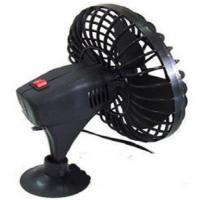 Mini 4 Inch Car Cooling Fan Plastic Oscillating Cup Mounting With Two Switch Manufactures