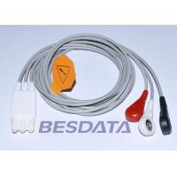 China M1673A Compatible ECG Cables And Leadwires For Philips M1668A ECG Trunk Cable on sale