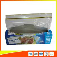 Snap Seal Reusable Sandwich Bags For Coles Supermarket Large Size 35*27cm Manufactures