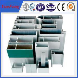 aluminium extrusion customized, finised aluminium curtain wall buiding project Manufactures