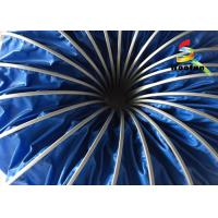 Flame Retardant High Temperature Flexible Duct , 150mm Ventilation Flexible Ducting Manufactures
