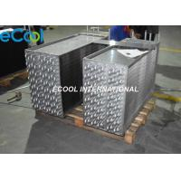 Compact Structure Fin And Tube Heat Exchanger For Evaporator , Condenser Manufactures