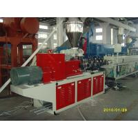 CE 37kw Small Diameter Twin Screw Extruder DELTA or CUSTOMIZED Manufactures