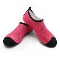 Lycra Anti Slip Water Aqua Shoes / Spring Womens Water Shoes For Beach Manufactures