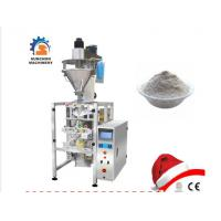 Automatic Vffs Barley Flour Packaging Machine With PLC Control Manufactures