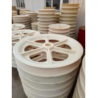 MC Nylon Sheave Block Pulley Wear Resistant Insulation Casting Level For Crane Manufactures