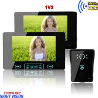 long working life abrasion resistant wireless peephole colour video door phone Manufactures