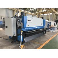 Carbon Steel Cutting Guillotine Shearing Machine With Delem DAC360 CNC Control Manufactures