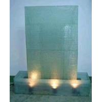 China Glass Floor Water Fountains on sale