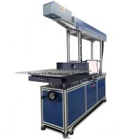 China S600 600*600mm large format CO2 glass tube laser marking machine for Jeans on sale