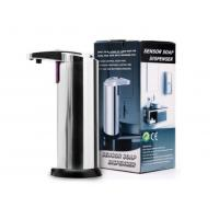 China No-touch hotel hand soap dispenser stainless steel infrared sensor soap dispenser automatic on sale
