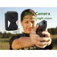 China IP68  Night Vision GPS WIFI RECODA 4G Body Camera 1440P With 140° View Angle on sale