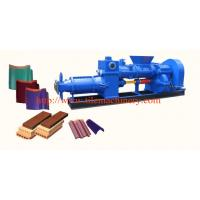 China clay roofing tile making machine on sale