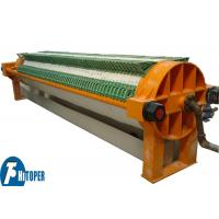 Solid Liquid Separation Round Filter Press Equipment For Ceramics Filtration Manufactures