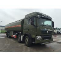 HOWO Stainless Steel 8X4 Petroleum Oil Storage Tank Fuel Delivery Truck 30 CBM Manufactures