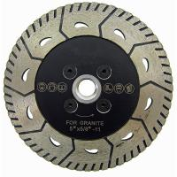 5 Inch 2 In 1 Turbo Diamond Blade Granite Cutting Tools For Both Cutting And Grinding Manufactures