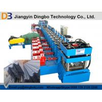 Buy cheap 380V / 3PH / 50HZ Guardrail Roll Forming Machine For Colored Galvanized Steel from wholesalers