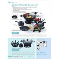 Electric Wok with Fondue Set Manufactures